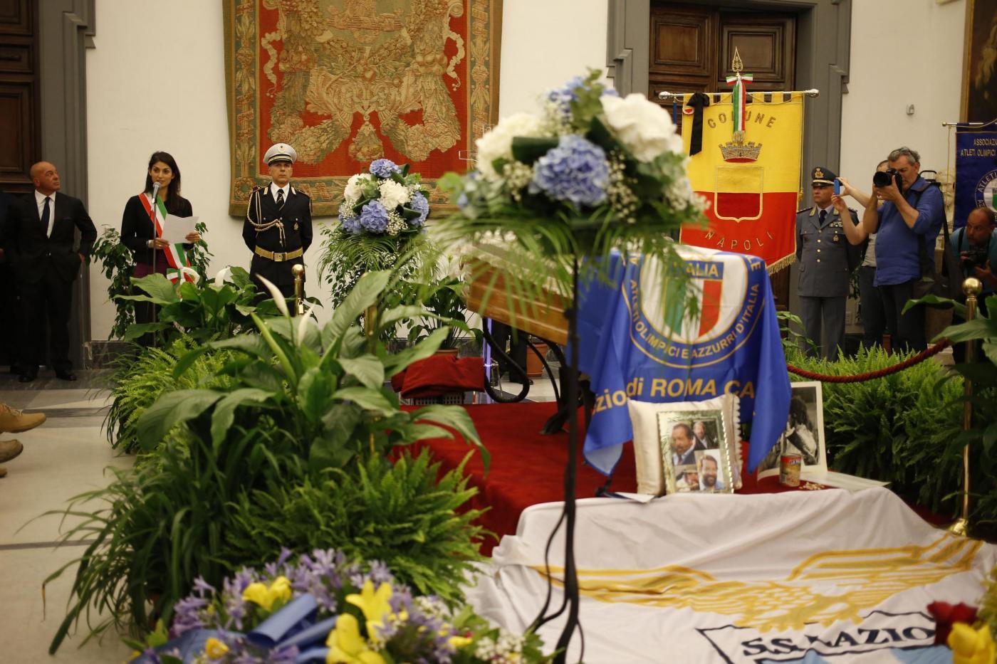 Virginia Raggi ricorda Bud Spencer: 'Grazie a persone come lui il bene vince sul male'