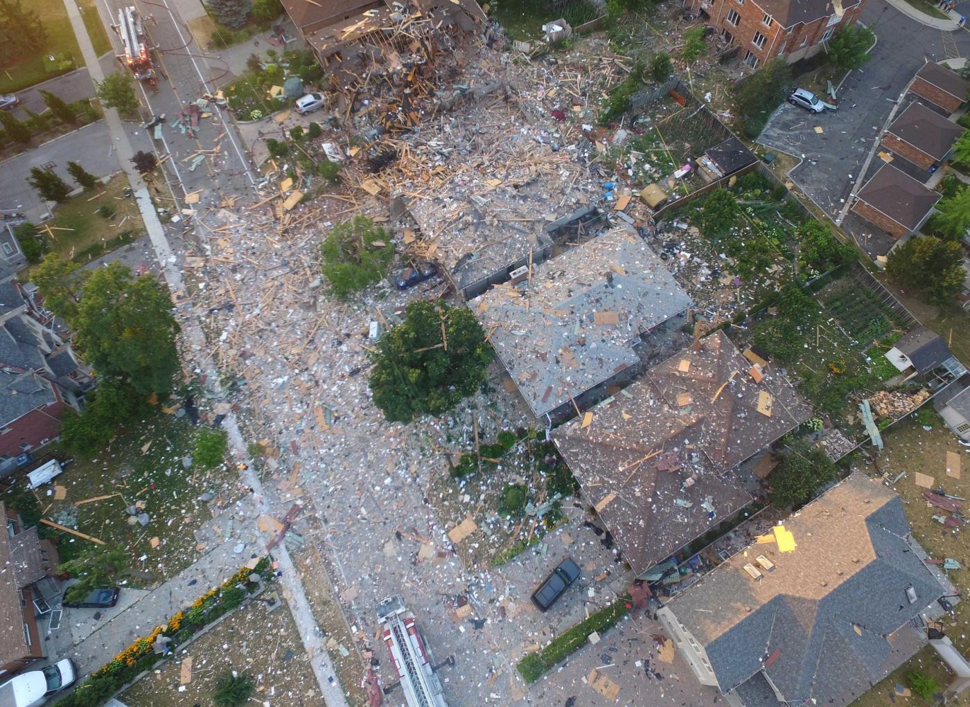 Canada, esplosioni in condomini a Mississanuga