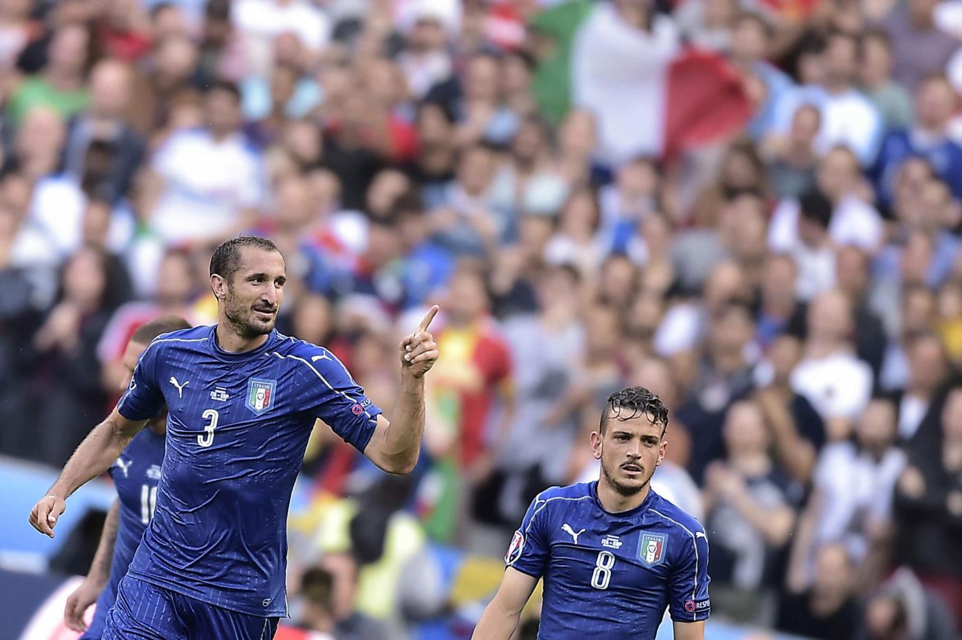 Italia-Spagna Euro 2016: tutte le foto più belle della partita