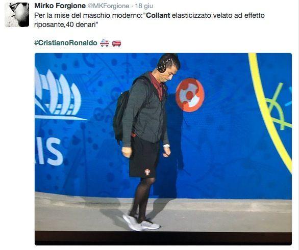 Cristiano Ronaldo collant