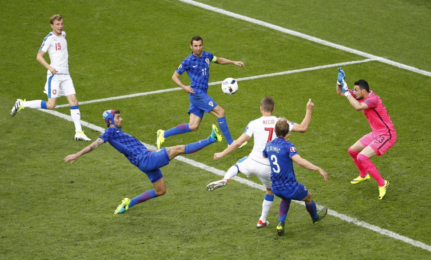Euro 2016, Repubblica Ceca Croazia