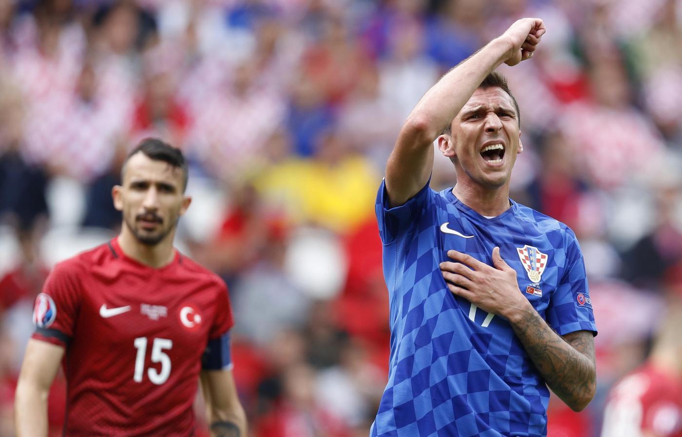 Turchia vs Croazia   Europei 2016