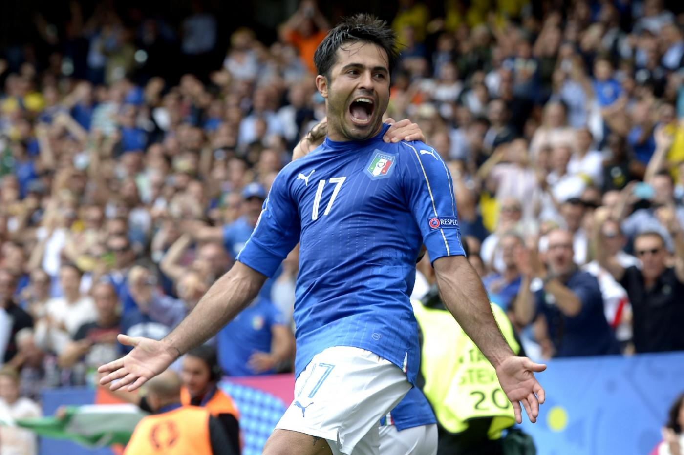 Italia-Svezia Euro 2016: Eder porta gli azzurri agli ottavi di finale