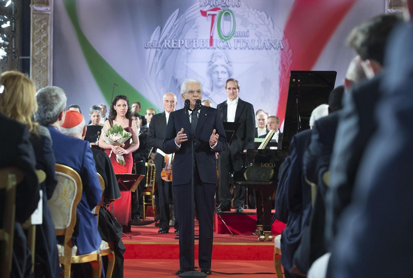 2 giugno Festa della Repubblica, Mattarella: 'E' la festa della libertà di scelta'