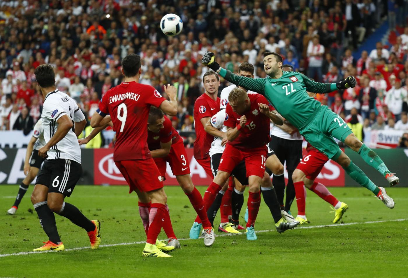Europei 2016, Germania vs Polonia