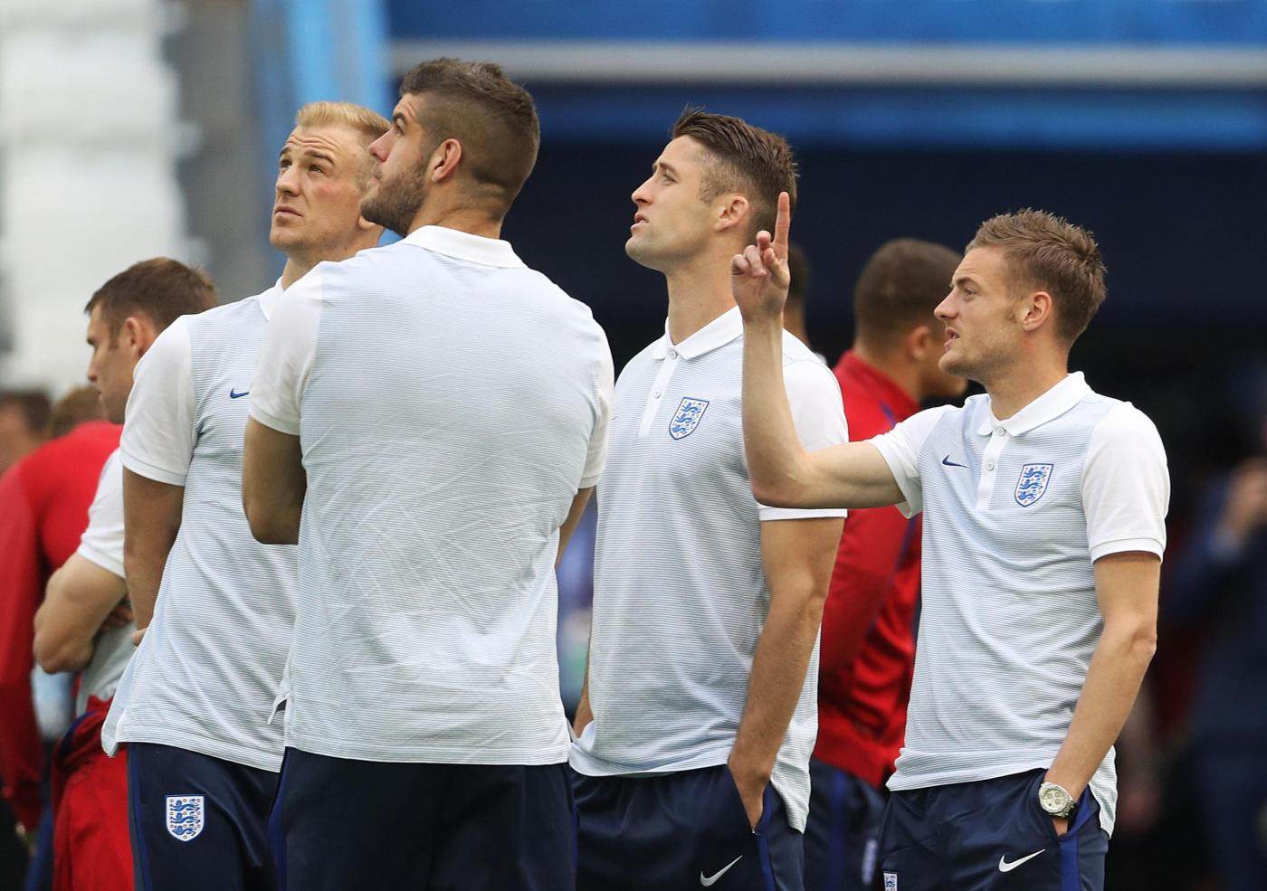 England v Russia   UEFA Euro 2016   Group B   England Press Conference & Squad Walkaround   Stade Velodrome