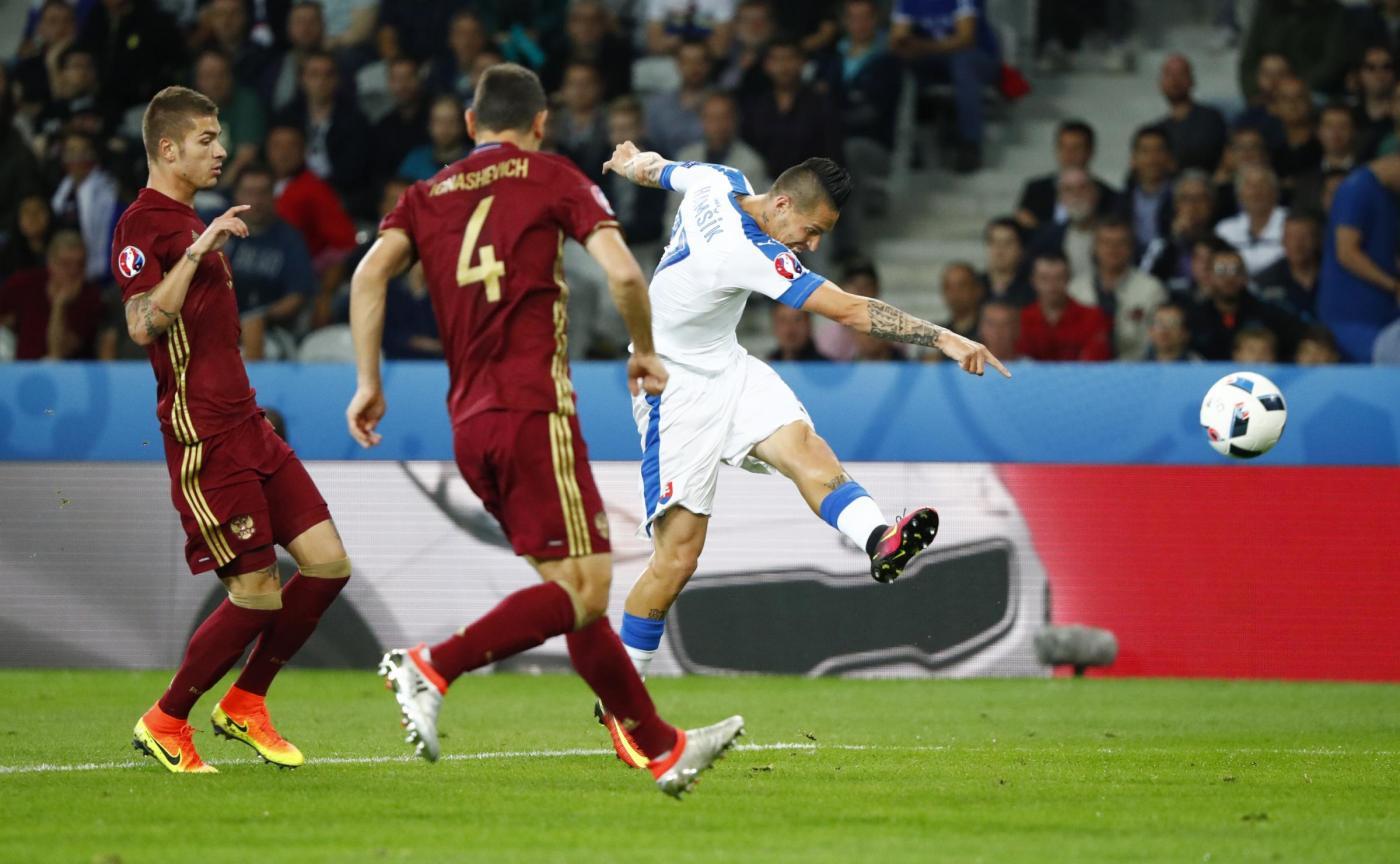 Russia vs Slovacchia   Euro 2016