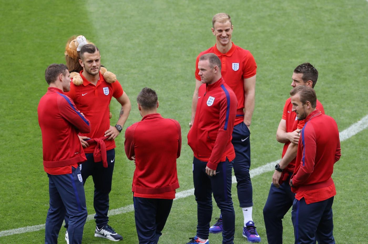 England v Slovakia   UEFA Euro 2016   Group B   England Walkaround   Stade Geoffroy Guichard