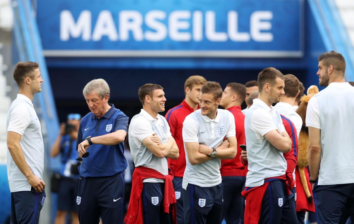 England v Russia   UEFA Euro 2016   Group B   England Press Conference & Squad Walkaround   Stade Velodrome