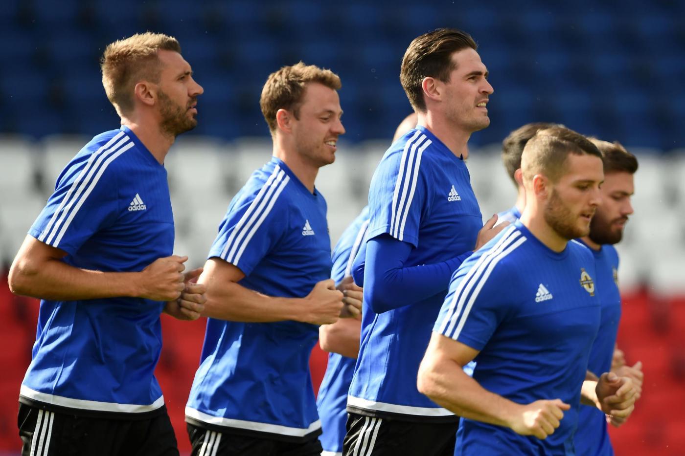 Euro 2016, Irlanda del Nord in allenamento