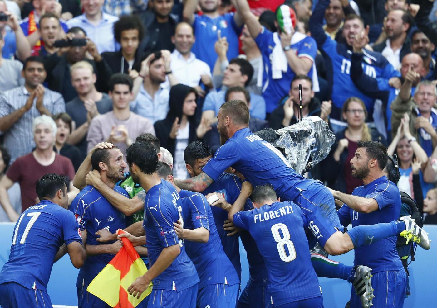 EURO 2016 Italia vs Spagna 2-0: azzurri ai quarti contro la Germania