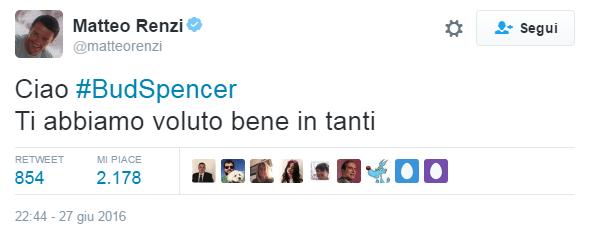 Matteo Renzi bud