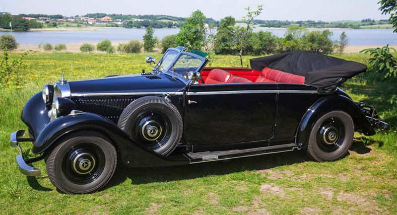 Mercedes 320 1938 Heydrich
