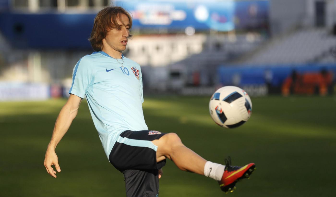 Euro 2016, La Croazia in allenamento