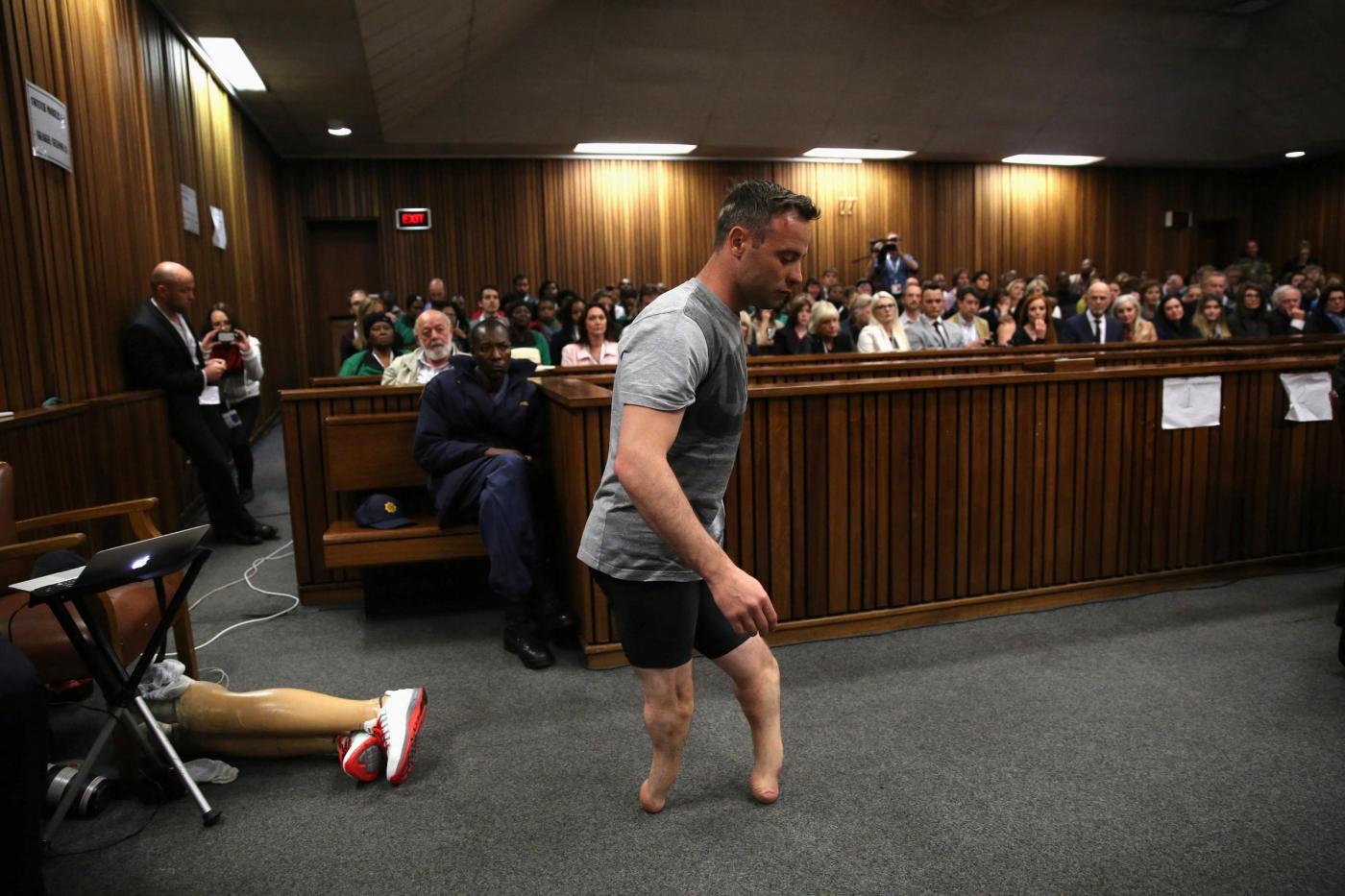 Pretoria, terzo giorno di udienza nel processo all'alta corte per Pistorius