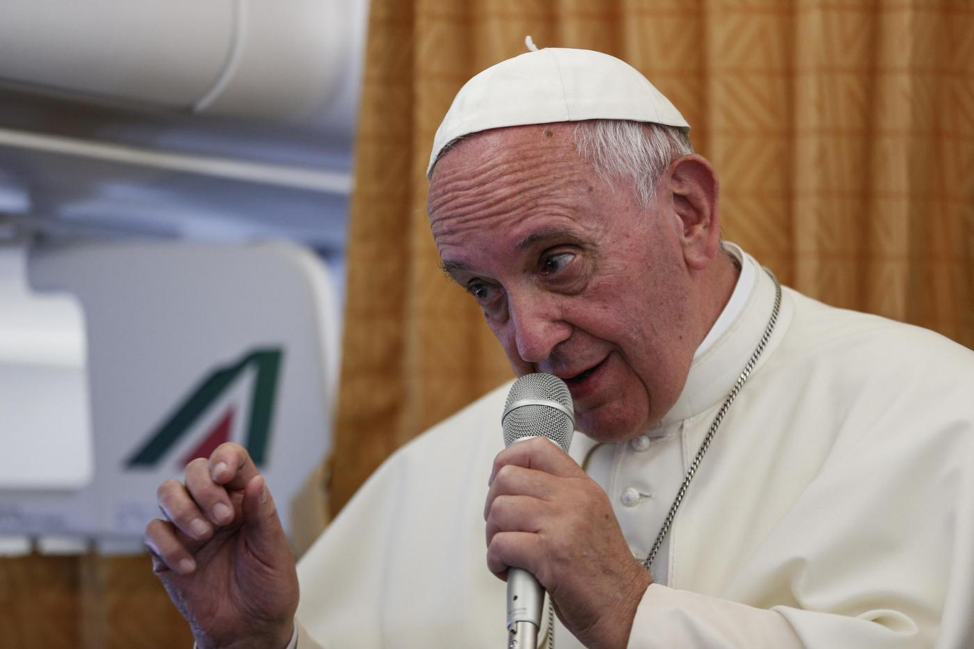 Papa Francesco: 'La Chiesa chieda scusa ai gay'