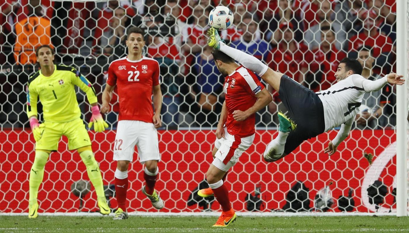 Euro 2016, Svizzera vs Francia