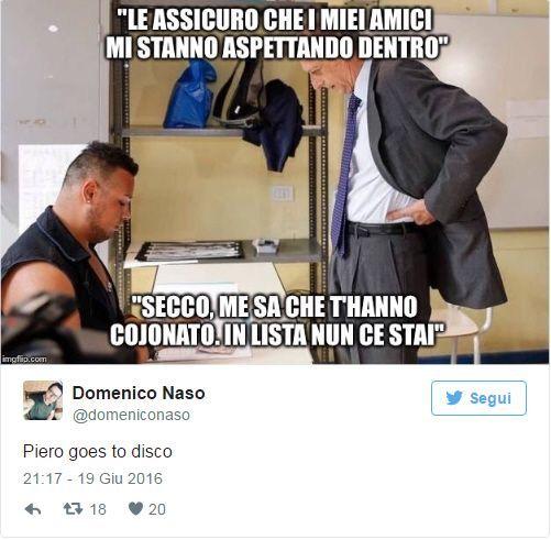 Piero goes to Disco