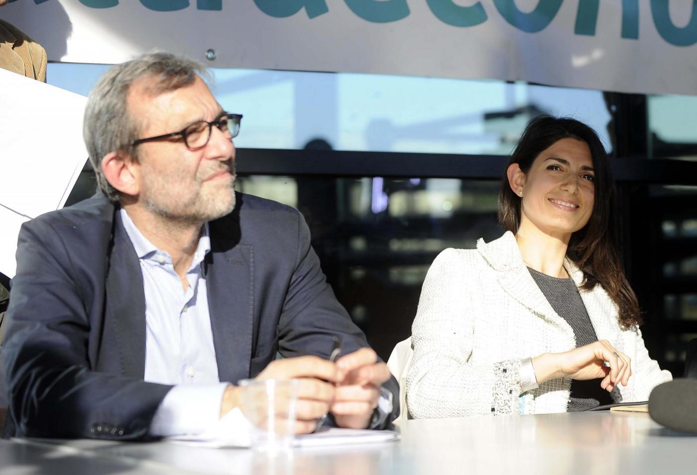 Dibattito con Roberto Giachetti, Virginia Raggi e Stefano Fassina