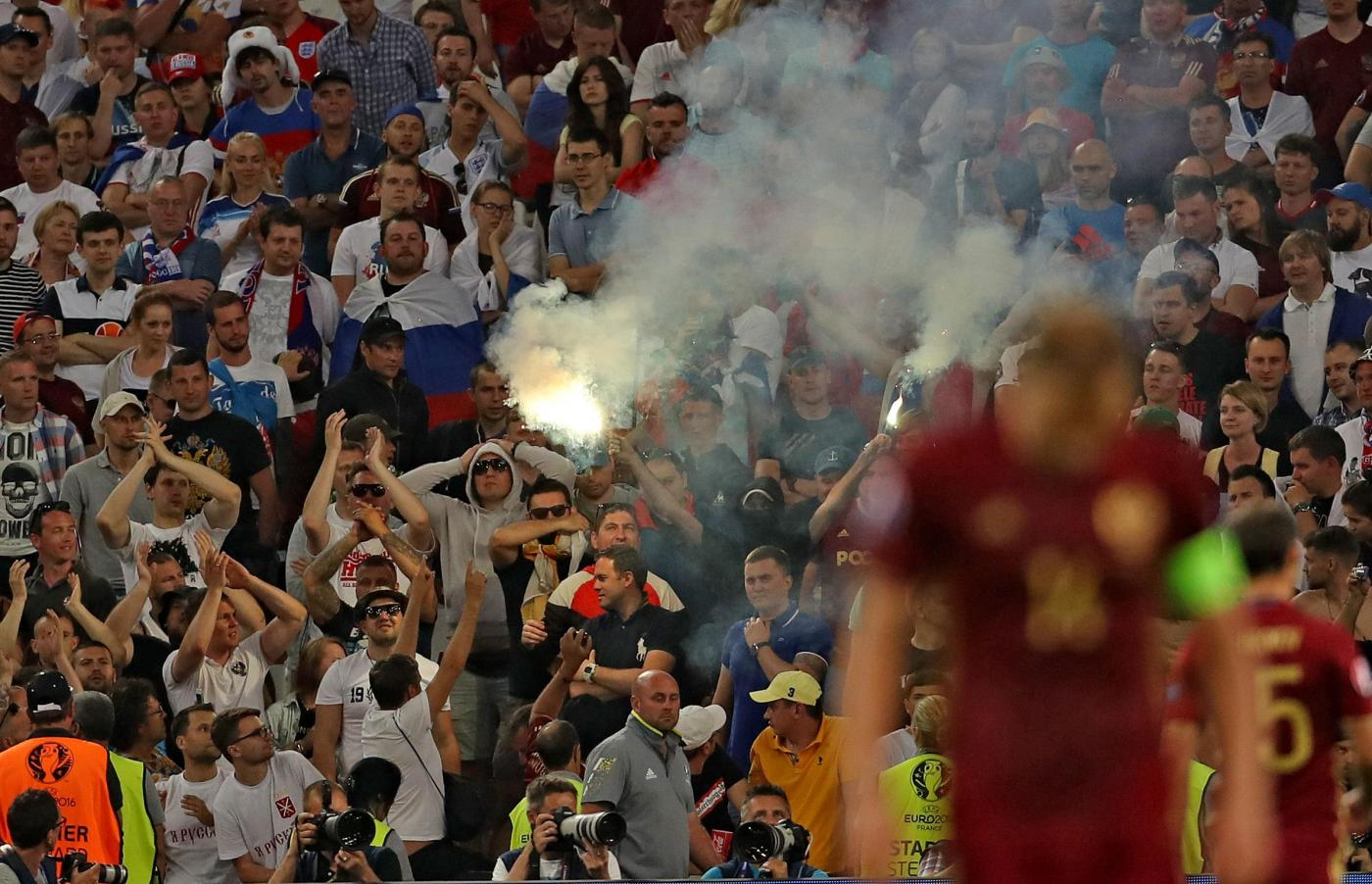 England v Russia   UEFA Euro 2016   Group B   Stade Velodrome