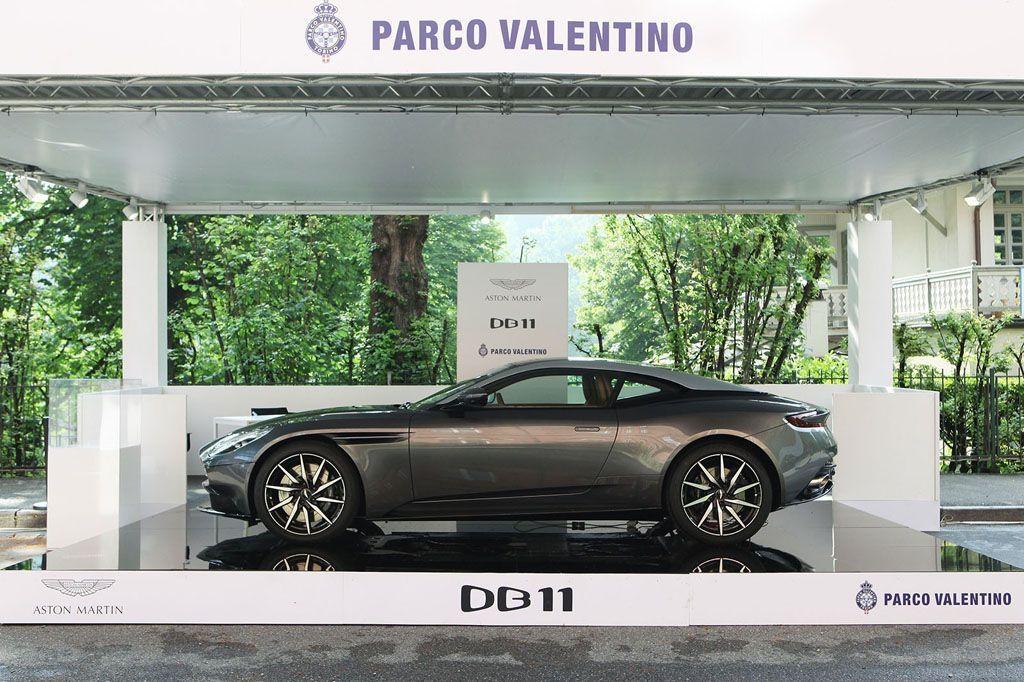 Salone Parco Valentino Torino Aston Martin DB11