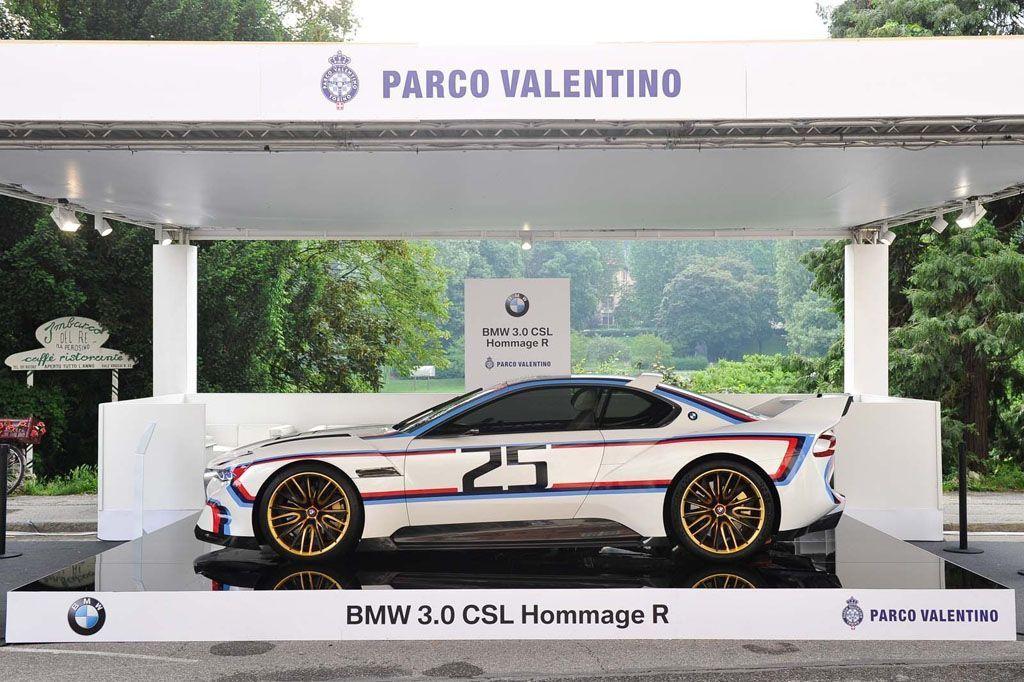 Salone Parco Valentino Torino BMW 3.0 CSL Hommage