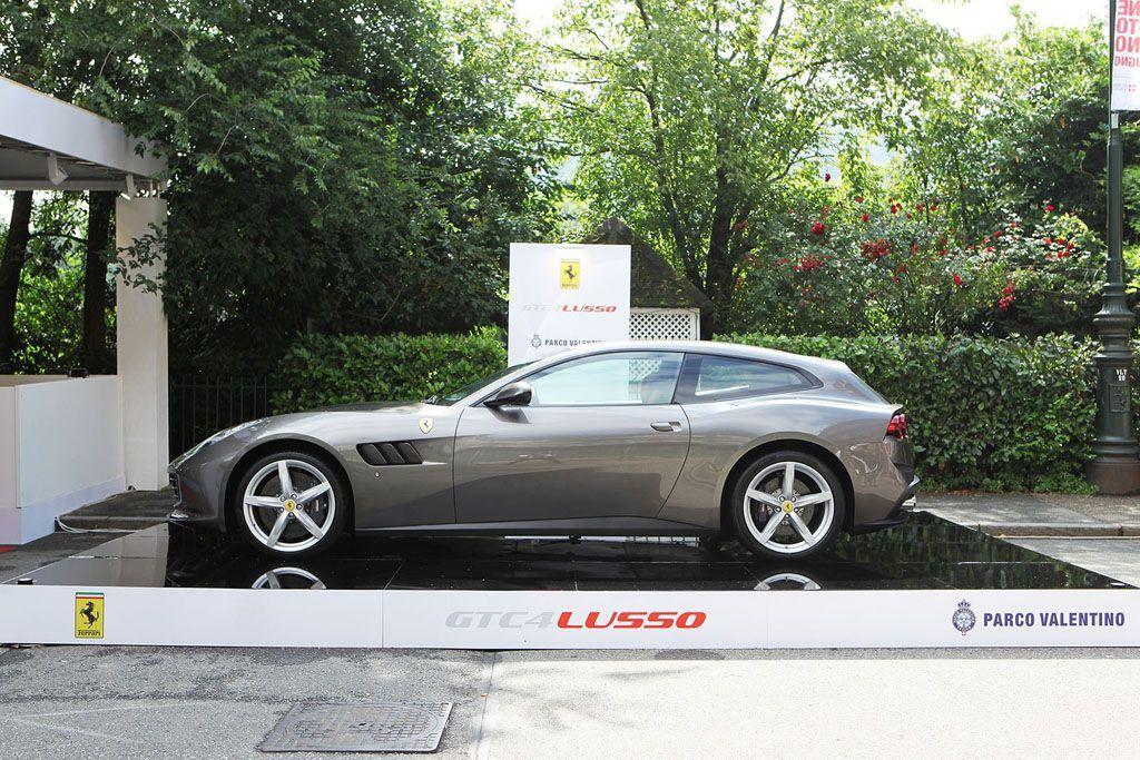 Salone Parco Valentino Torino Ferrari GTC4Lusso