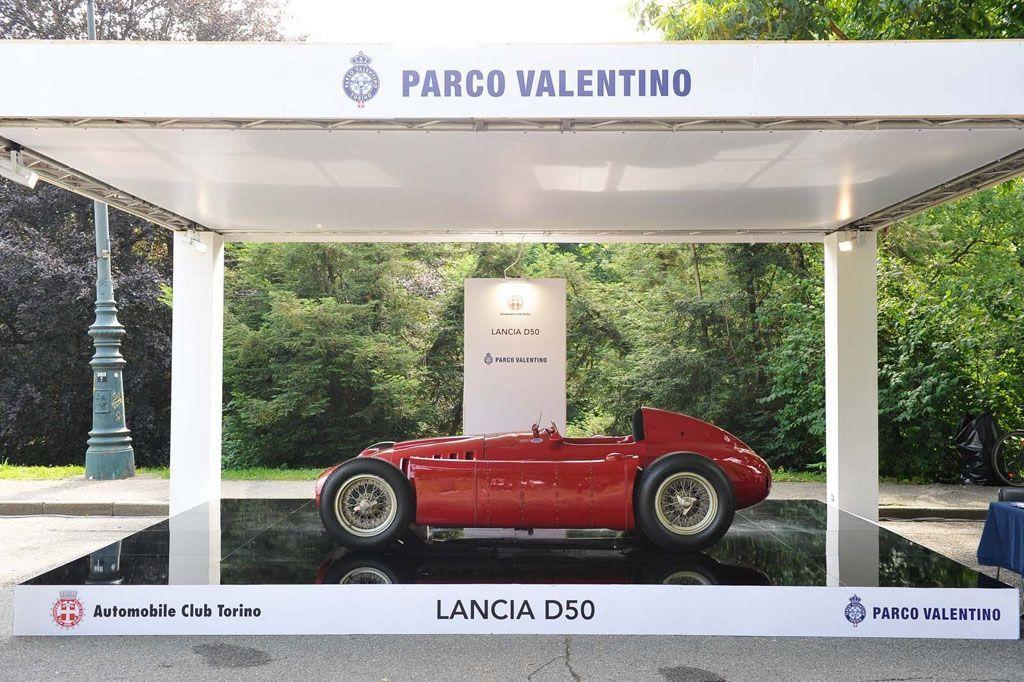 Salone Parco Valentino Torino Lancia D50