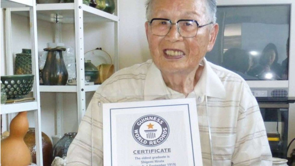 Si laurea a 96 anni e entra nel Guinness dei Primati