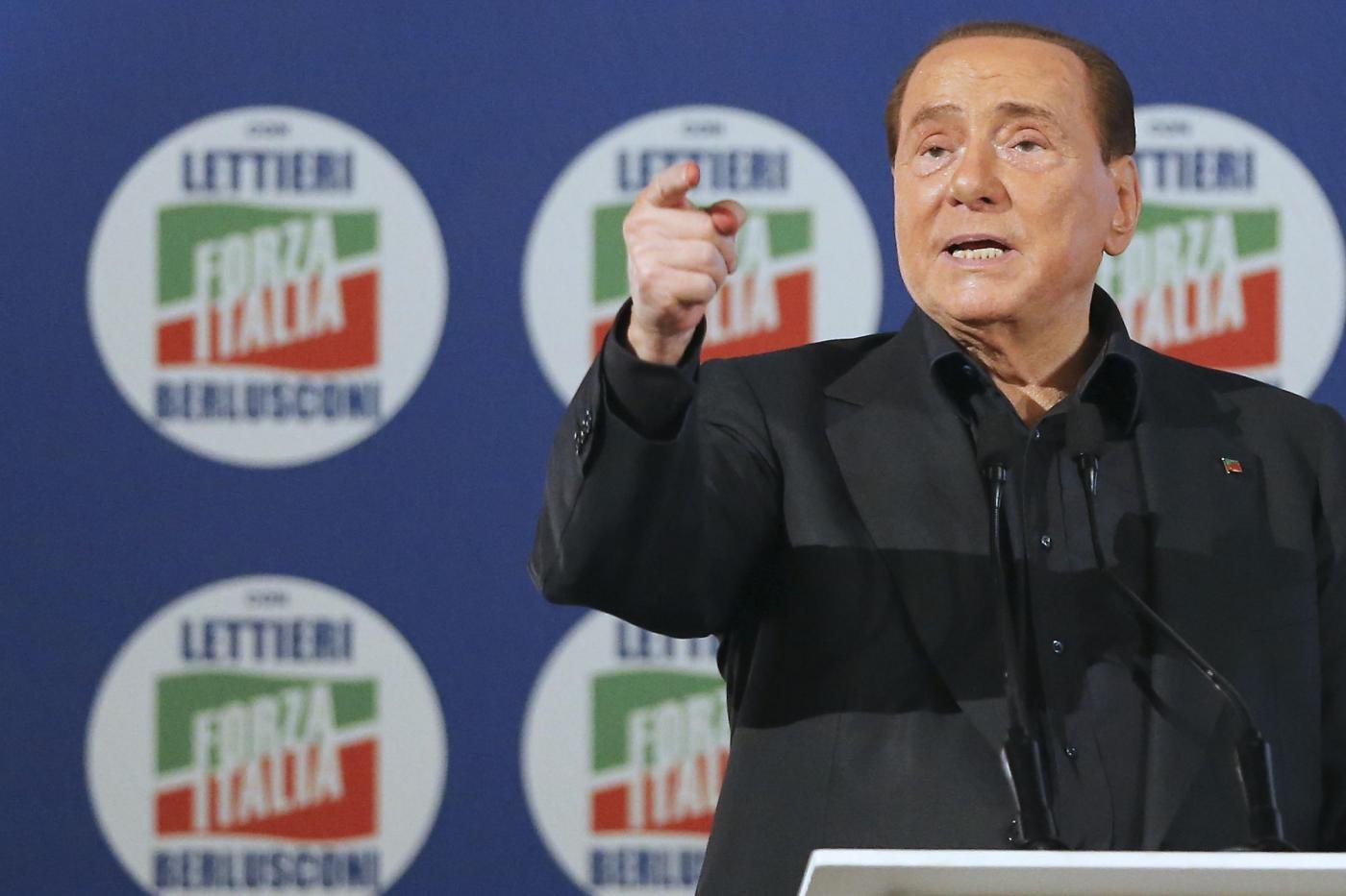 Forza Italia, Berlusconi a Napoli per Lettieri