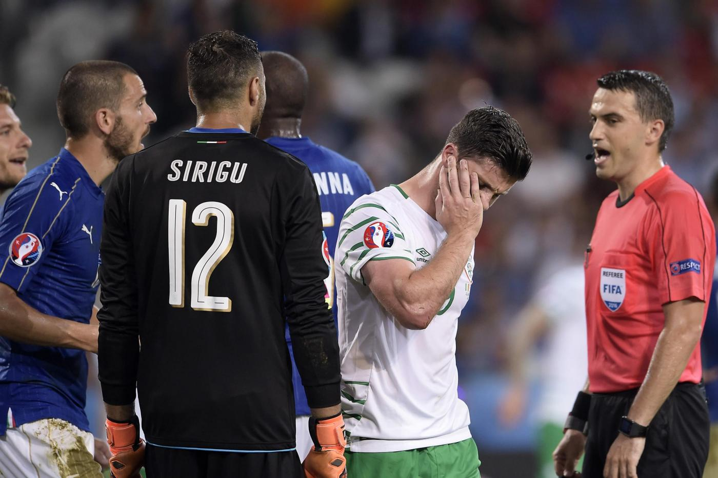 Italia vs Irlanda   Europei 2016
