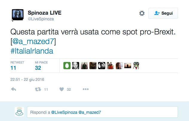 Italia vs Irlanda Euro 2016: il bar sport su Facebook e Twitter