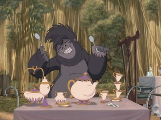 Tarzan teiere