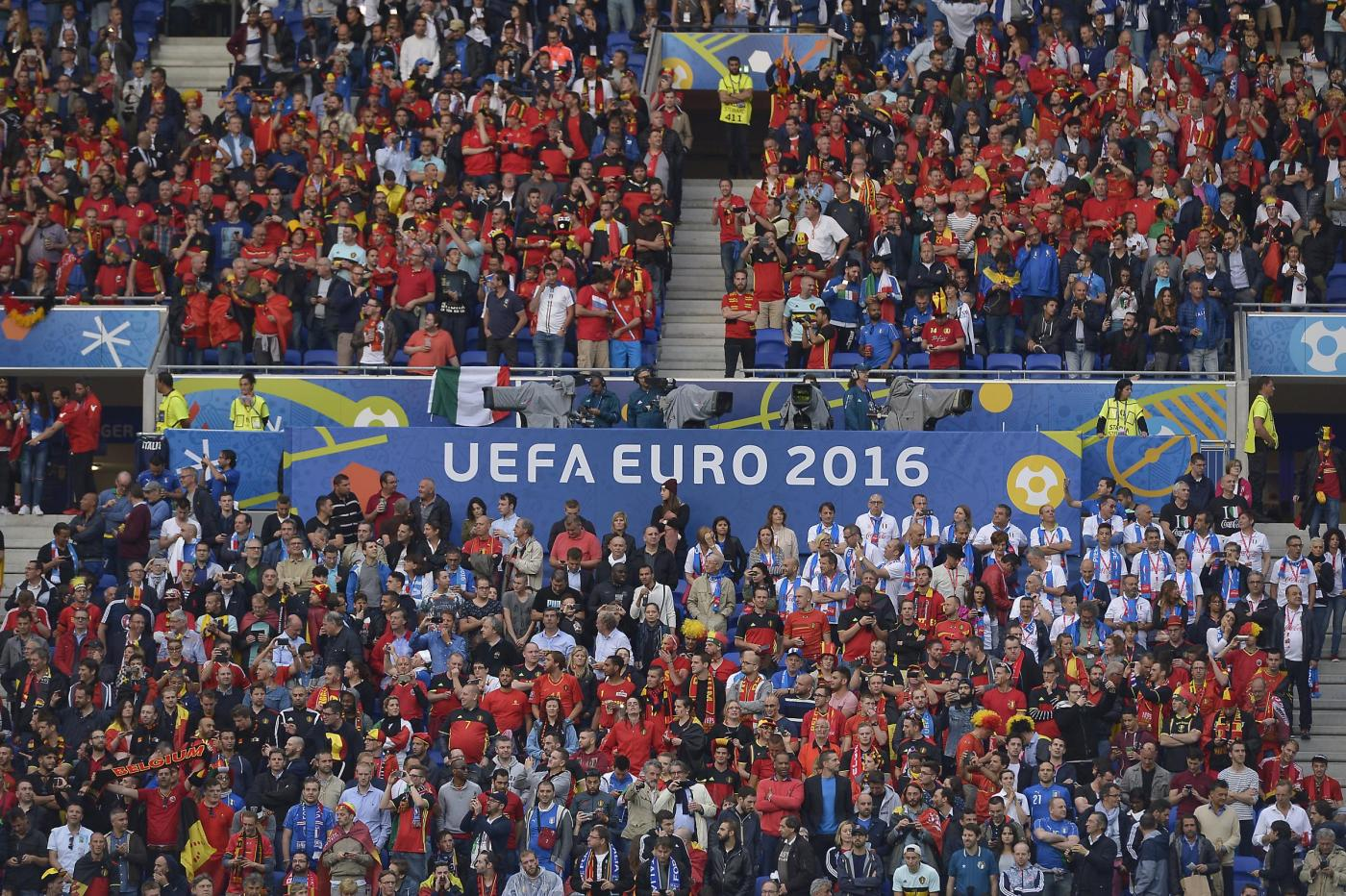Europei 2016   Belgio   Italia   Stade de Lyon, Lione  Fase a gironi   Gruppo E