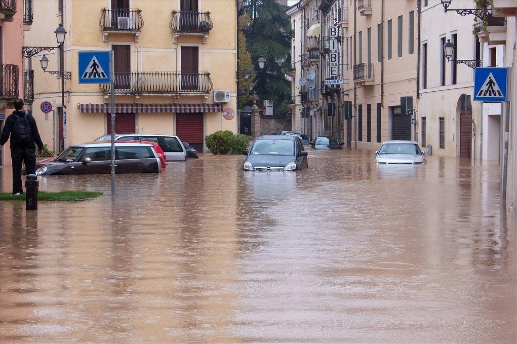 alluvione italia cambiamenti climatici