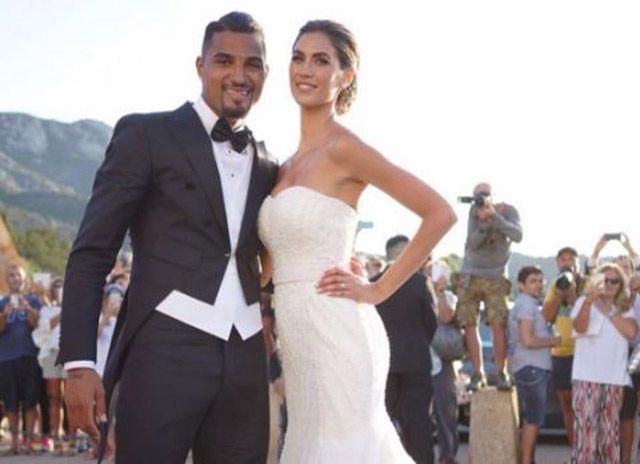 Melissa Satta e Kevin Prince Boateng sposi a Porto Cervo: la coppia ha detto Sì