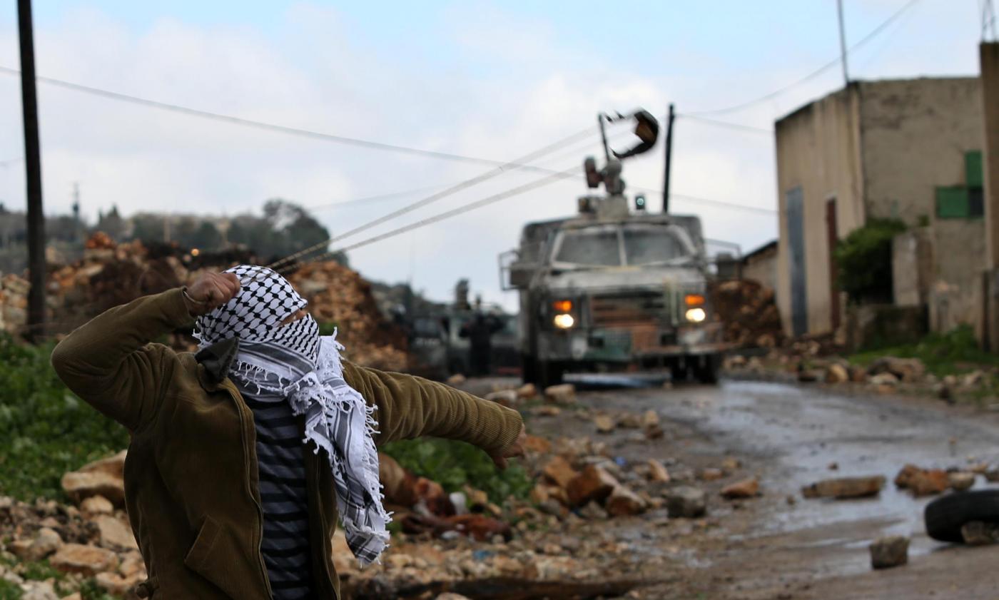Cisgiordania, proteste a Nablus