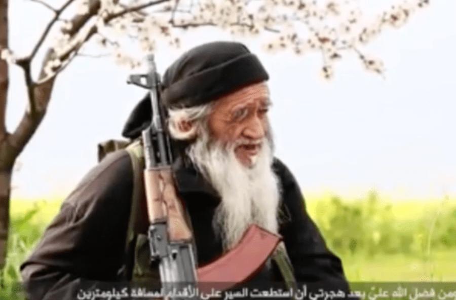combattente isis 81 anni