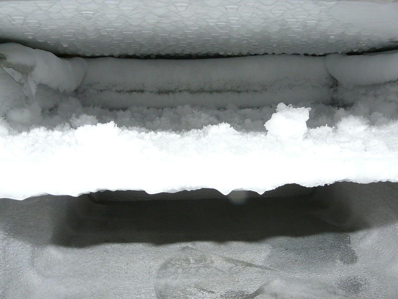 ghiaccio congelatore