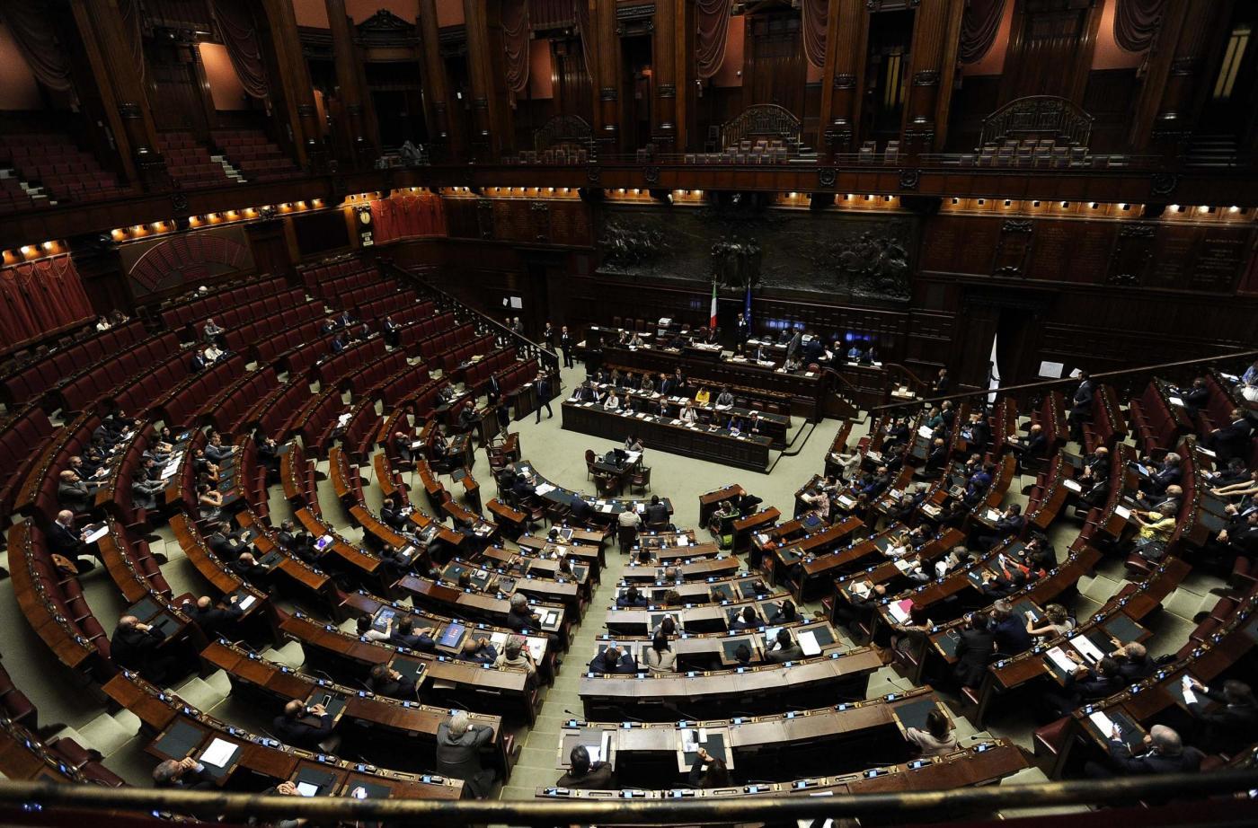 Camera dei Deputati Comunicazioni del Presidente del Consiglio Matteo Renzi