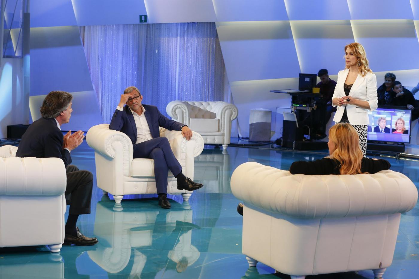 I candidati a sindaco di Roma ospiti del programma televisivo Domenica Live
