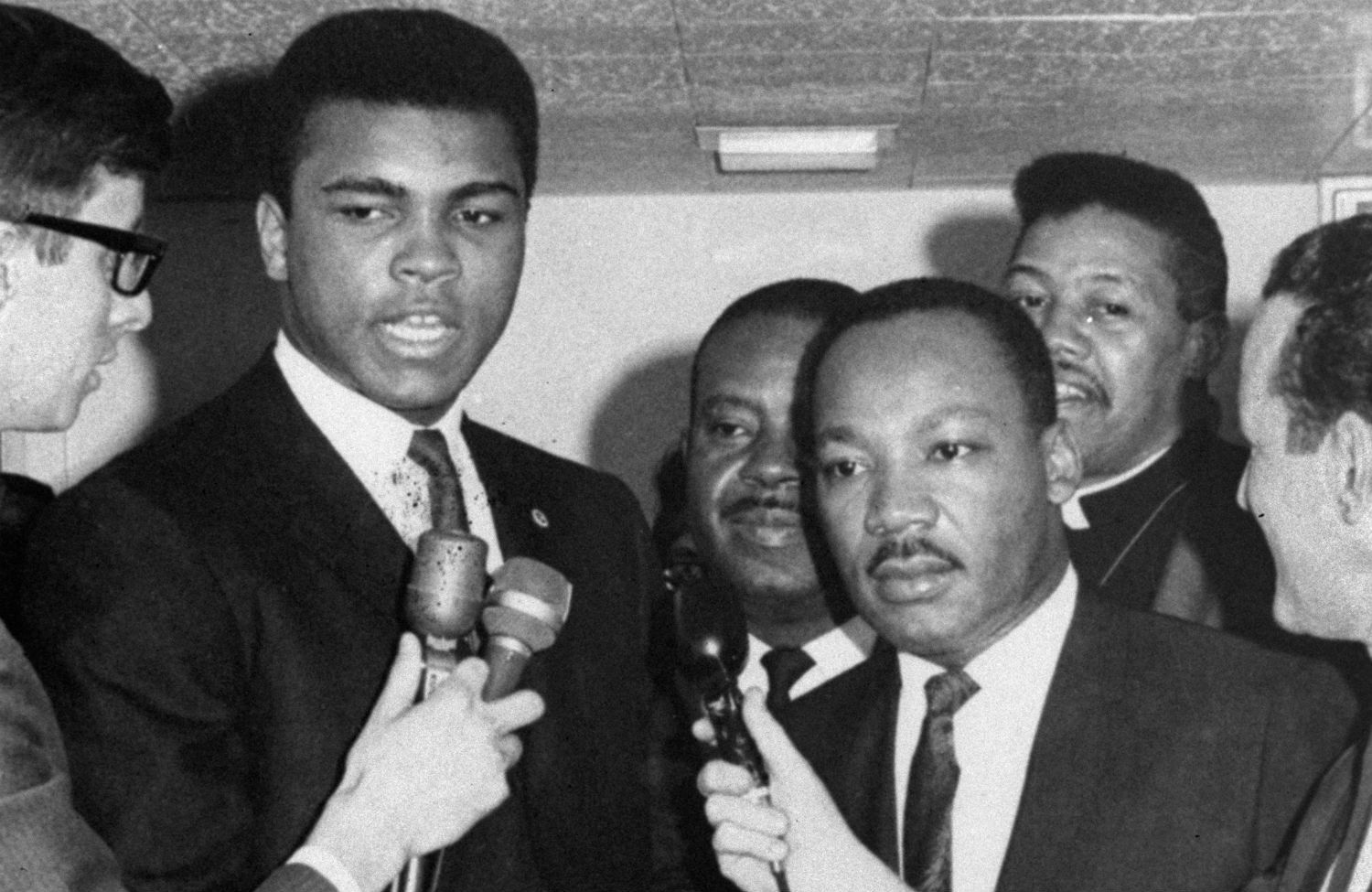 muhammad ali Luther King