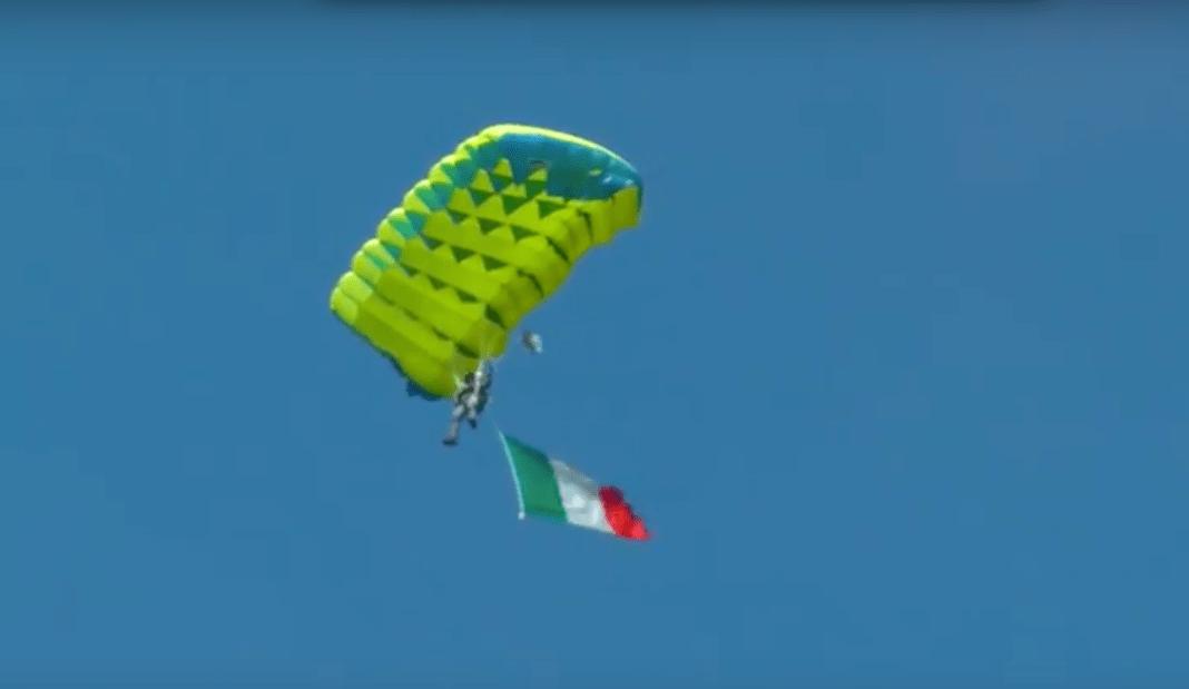 paracadutista frecce tricolore