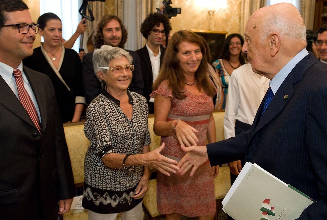 Continua la visita di Giorgio Napolitano a Palermo