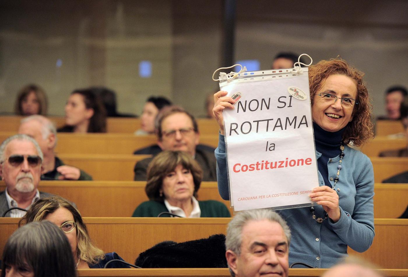 Presentazione del comitato per il No al Referendum sulla riforma della costituzione