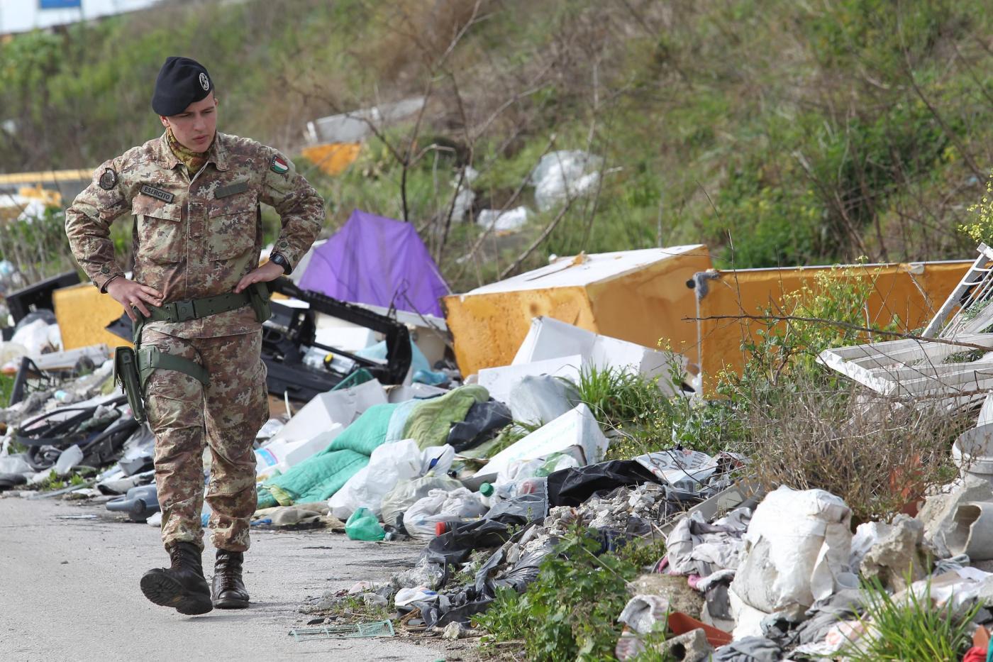 Rifiuti in Campania, un danno da 27 milioni di euro