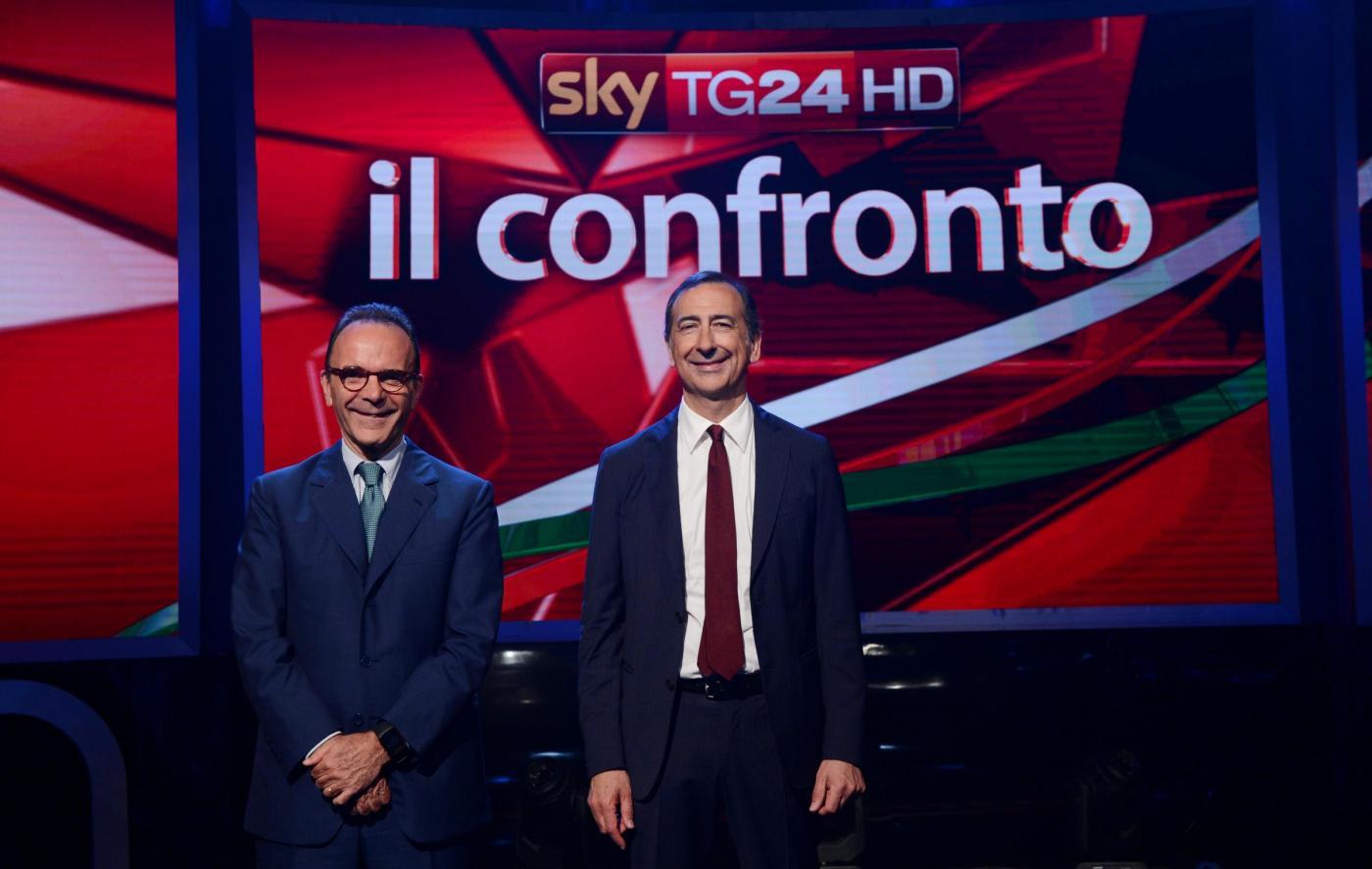 Ballottaggio Milano: Beppe Sala contro Stefano Parisi su Sky