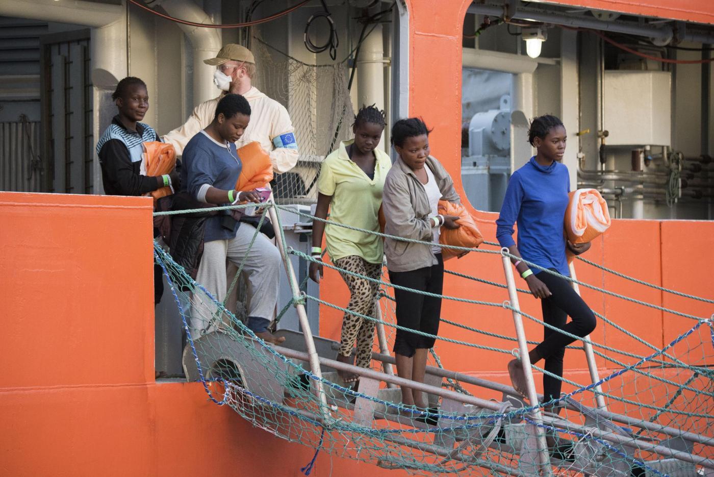 Sbarco di migranti in Sicilia