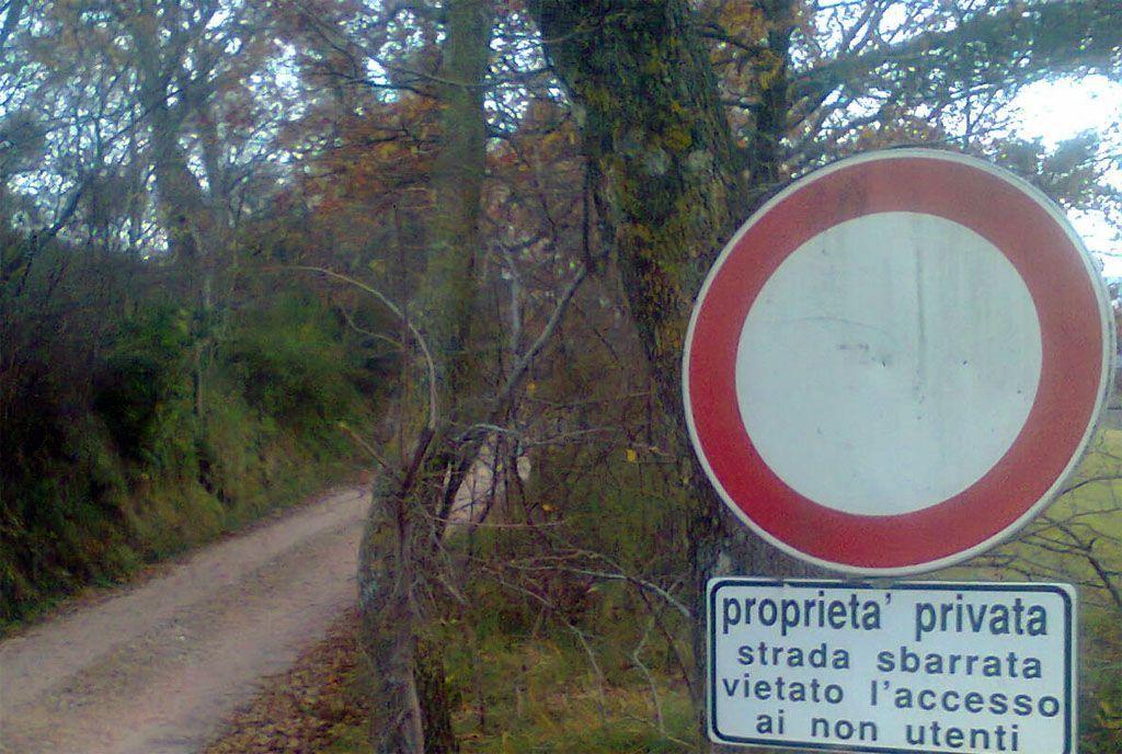 Multe su strada privata: il ministero dice che si può