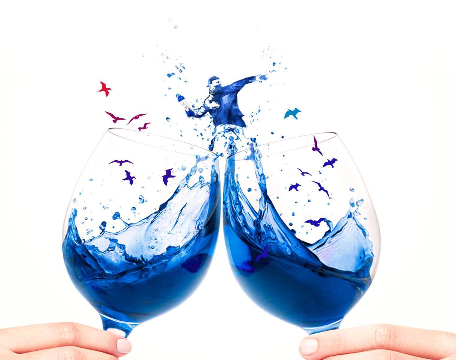 Il vino blu, dalla Spagna la pazza idea